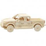 3D-Figuren zum Zusammensetzen, pick-up, Größe 19,5x8x12 cm, 1 Stck.
