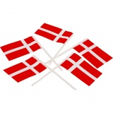 Kuchenflagge, Größe 30x50 mm, 100 Stck./ 1 Pck.