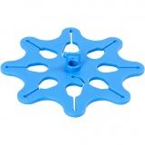 Ballon-Halter, Blau, D: 10,3 cm, 1 Stck.