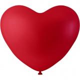 Ballons in Herzform, Rot, Herz, 8 Stck./ 1 Pck.