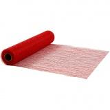 Tischläufer, Rot, B: 30 cm, 10 m/ 1 Rolle