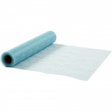 Tischläufer, Hellblau, B: 30 cm, 10 m/ 1 Rolle