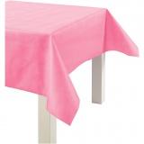 Tischdecke aus Stoff-Imitat, Pink, B: 125 cm, 70 g, 10 m/ 1 Rolle