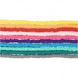 Tonperlen, Sortierte Farben, D: 5-6 mm, Lochgröße 2 mm, 10x145 Stck./ 1 Pck.