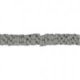 Tonperlen, Grau, D: 5-6 mm, Lochgröße 2 mm, 145 Stck./ 1 Strg.