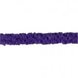 Tonperlen, Flieder, D: 5-6 mm, Lochgröße 2 mm, 145 Stck./ 1 Strg.