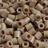 Bügelperlen, Beige (32248), Größe 5x5 mm, Lochgröße 2,5 mm, medium, 1100 Stck./ 1 Pck.