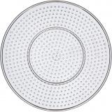 Steckbrett, Transparent, Großer Kreis, D: 15 cm, 1 Stck.