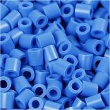 Fotoperlen, Blau (17), Größe 5x5 mm, Lochgröße 2,5 mm, 1100 Stck./ 1 Pck.